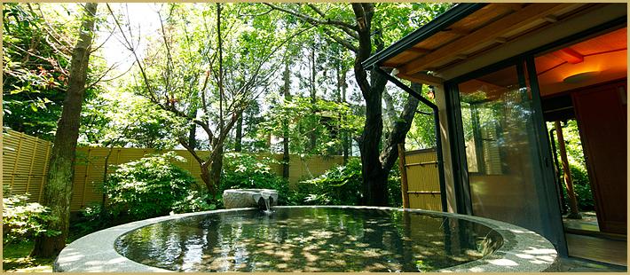 さくらの湯 四川御影石風呂